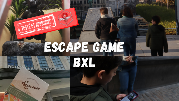 Oh My Guide, un Escape Game grandeur nature à Bruxelles !