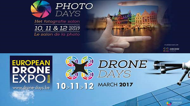 Photo/Drone Days à Brussels Expo