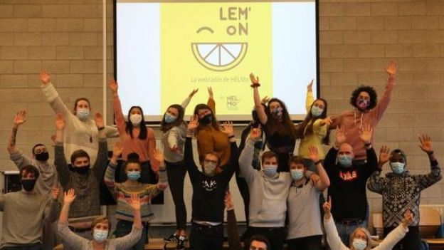 LEM'oN, la nouvelle webradio des étudiants de l'Helmo.