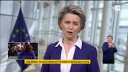 Investiture de Joe Biden : interview d'Ursula von der Leyen (RTBF - France Info)